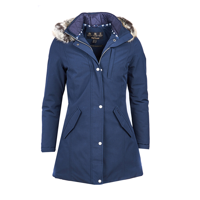 Barbour EPLER WATERPROOF BREATHABLE JACKET Women Navy Outlet Store