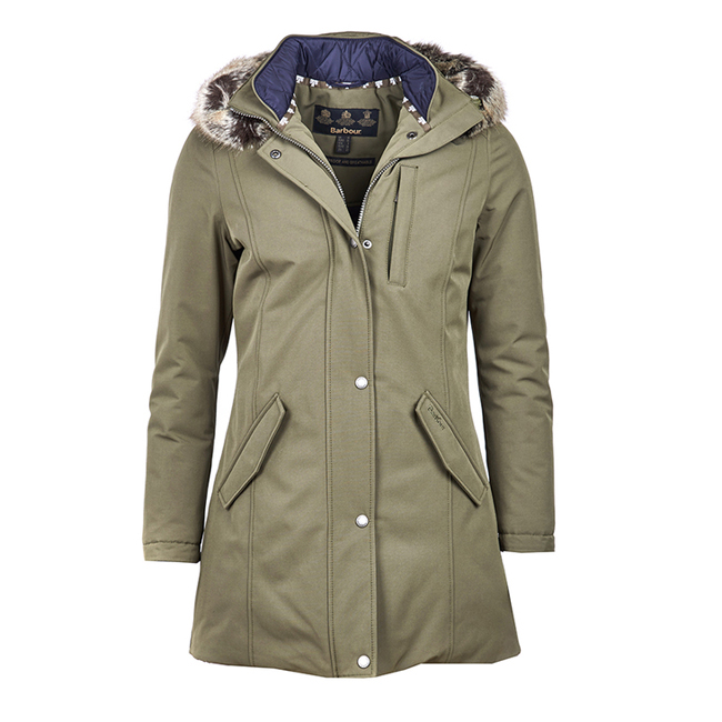 Barbour EPLER WATERPROOF BREATHABLE JACKET Women Seaweed Outlet Store