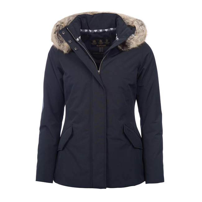 Barbour CHEVIOT WATERPROOF BREATHABLE JACKET Women Black  Outlet Store
