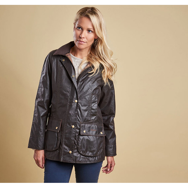 Cheap BARBOUR BEADNELL WAX JACKET Rustic Sale