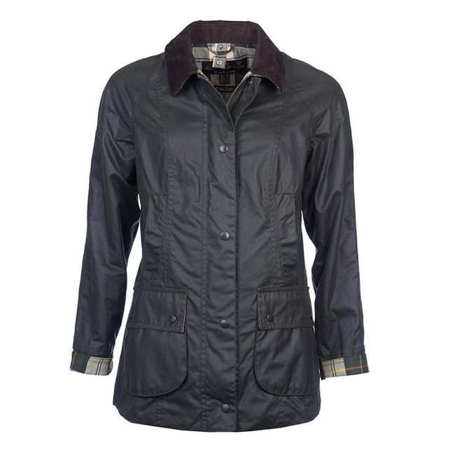Cheap BARBOUR BEADNELL WAX JACKET Sage Sale